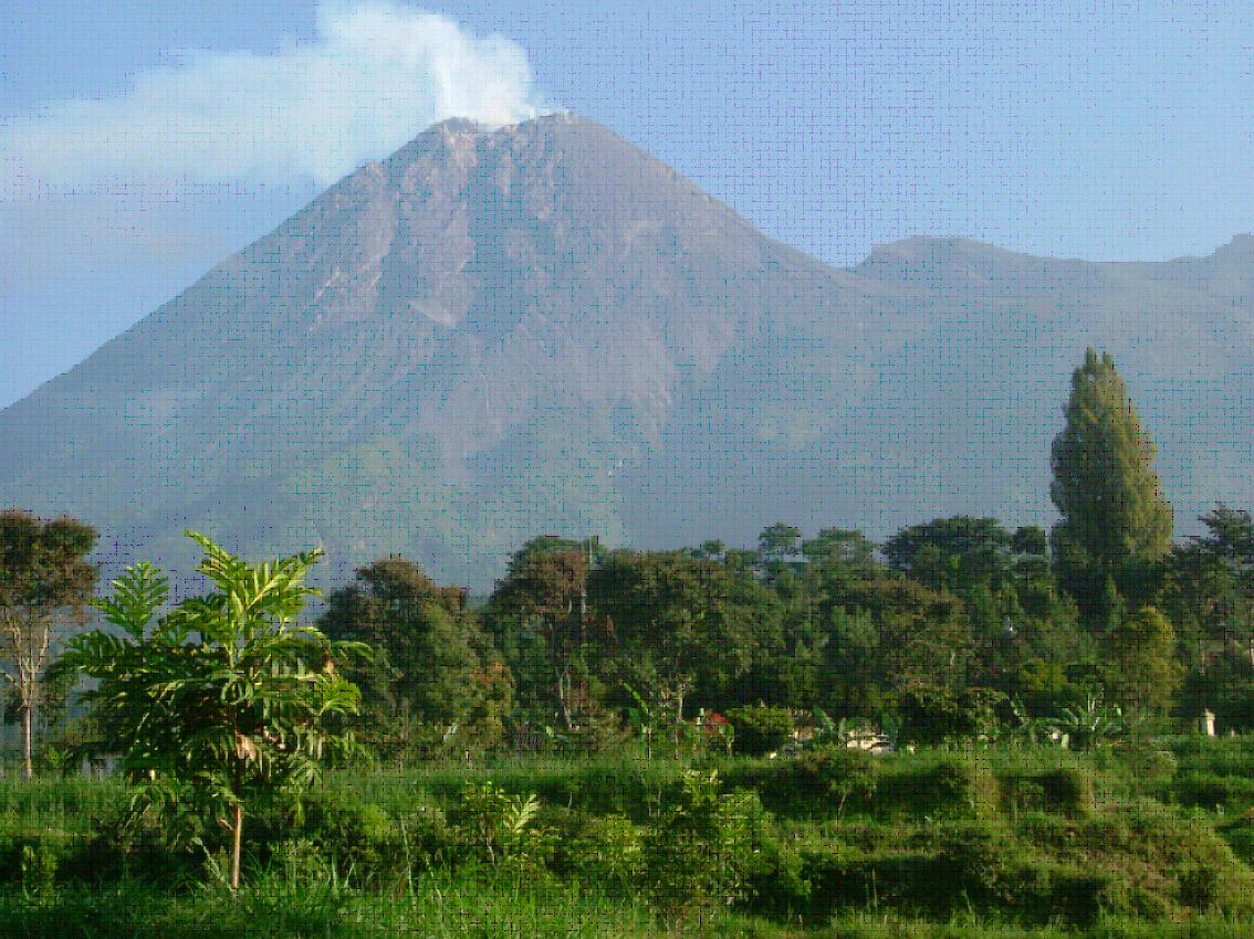 Deles - Merapi View